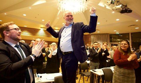 POPPIS: Flest vil ha Hans Petter Kvaal som ordfører i Tromsø. Men Høyre faller, og har trøbbel med samarbeid på borgerlig side.