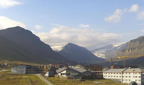 I dag er Longyearbyen det varmeste stedet i Norge. Foto: UNIS