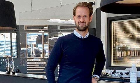 TIL TROMSØ: Andreas Pinnerød blir styreleder og eier av den nye butikken. Han har stor tro på Tromsø.
