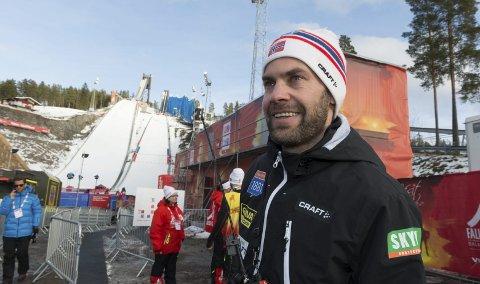 Vm-optimist: Sportssjef Sverre Rotevatn ønsker å kjempe om medaljer i alle øvelser og håpet på minst ett gull                     til de norske kombinertløperne i Falun. 8Foto: Henning Gulbrandsen
