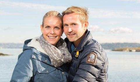 SLUTT: Jakten-paret Øyvind Leine Thune og Elise Edvardsen gått hver til sitt.