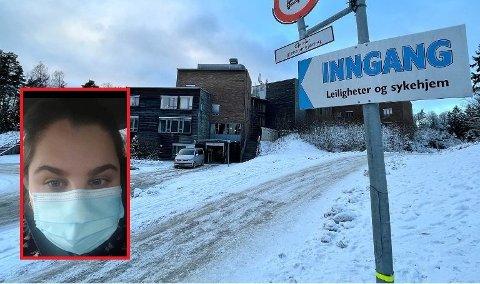 ALVORLIG: Virksomhetsleder ved Langhus bo og servicesenter Nina Kolberg Nikolaysen står midt i et smitteutbrudd ved Langhus bo og servicesenter.