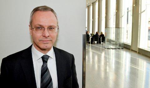 JOBBER MED ERSTATNINGSKRAV: Advokat Nicolai V. Skjerdal representerte Holøyen-brødrene og jobber nå med å fremme erstatningskrav på vegne av dem. (Foto: Bjørn-Frode Løvlund)