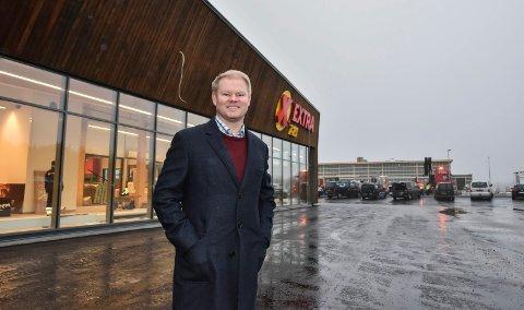 I RUTE: Investor Karl Erik Rimfeldt er i rute med utbyggingen av Østerdalsporten