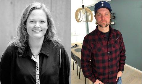 FAU: Nina Hårdnes Tremoen og Anders Brevig er FAU-ledere ved henholdsvis Hernes og Søbakken skole.