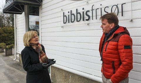 – DET TØFFESTE JEG HAR GJORT: Alle de ansatte hos Bibbi Engøs fire frisørsalonger er nå permittert. Engø forteller at å sende ut permitteringsvarselet var noe hun gjorde med et tungt hjerte.