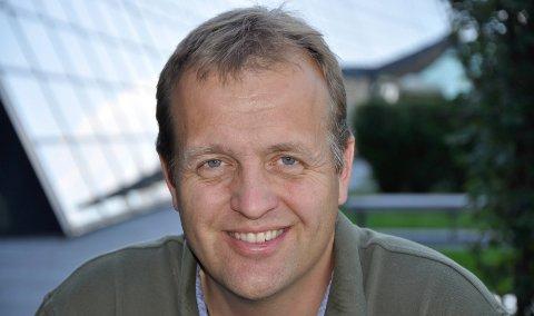 FIBERNETT: Moderniserings-direktør Arne Quist Christensen.