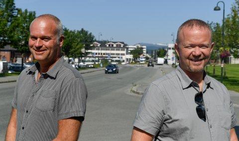 John Alfred Harrang og Tommy Bjørkås satser på webutvikling.