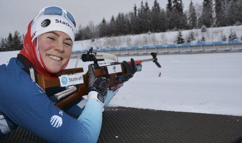 Sigrid Bilstad Neraasen innledet EM i Italia med 15. plass. Hun imponerte med feilfri skyting.