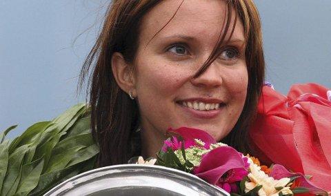 Gull: Johanne Ulrica Øveraasen tok sitt tredje NM-gull. 21. juni 2011