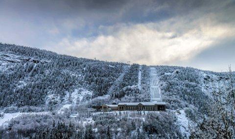 ÅPNER: Norsk Industriarbeidermuseeum på Vemork har vært stengt for publikum i fire uker. Nå åpnes dørene igjen .