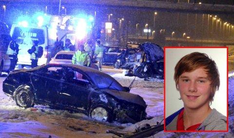 MISTET LIVET: Tom Pettersen (16) mistet livet da han ble påkjørt mens han forsøkte å hjelpe til i annen ulykke på E6. FOTO: REMI PRESTTUN/PRIVAT