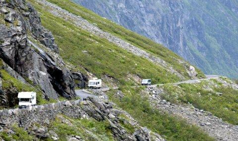 Ferierer i Norge: 91 prosent av norske bobileiere ferierer i Norge.