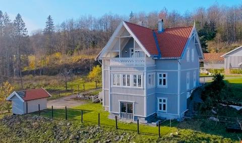 SOLGT: Børsandveien 4 ble solgt for 6 050 000 kroner.
