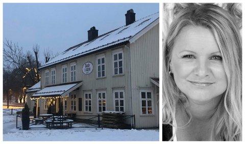 SMÅRETTER: Eier Lotte Andersen forklarer at Stasjonsgaarden vil satse på småretter som følge av de nye reglene.