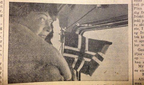 Fløy over i 1935: Ingrid Christensen, kona til Lars Christensen, ble i 1937 den andre kvinnen i Antarktis. SB-faksimile