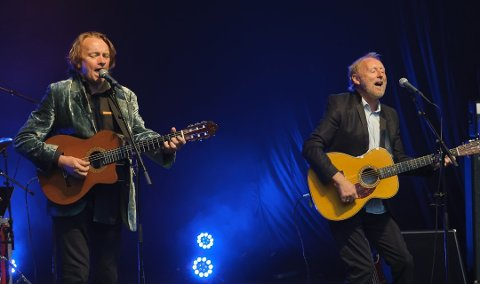 STORE NORSKE: Da Jan Eggum og Halvdan Sivertsen var i Sandefjord 30. oktober solgte Konsertkameratene 336 billetter. ARKIVFOTO: Knut Nordhagen