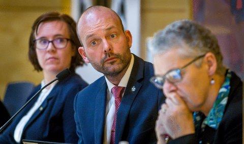 UTSETTER BEHANDLINGEN: Ordfører Sindre Martinsen-Evje utsetter behandlingen om kompensasjon til brukere av transport til kommunens dag- og aktivitetsentre.