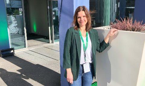 ORDFØRER: 44 år gamle Siri Blichfeldt Dyrland kan bli den første ordføreren i den nye kommunen Midt-Telemark.