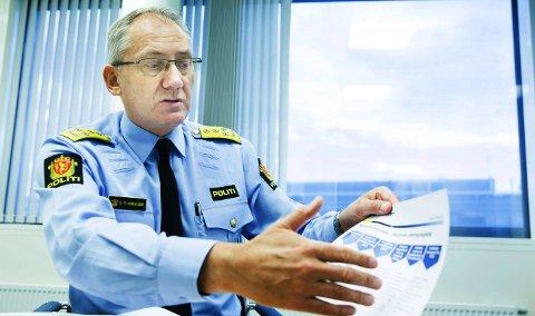 Direktøren: De som mister lensmannen sin, skal få noe enda bedre tilbake, sier politidirektør Odd Reidar Humlegård.