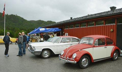 Veteranbiler hører hjemme på Bøfjordhelga.