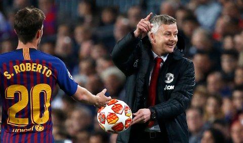 Ole Gunnar Solskjær og Manchester United er ute av Champions League.