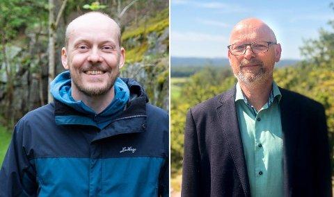 Kjell Anders Lier og Ulf Lund Halvorsen