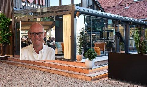 FORNØYD: Det har vært hektisk på kjøkkenet til Bent Voldstad i Foyn bar & restaurant under Spis ute-uka i høstferien.