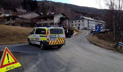 Aurdal: Øvelse med pågående livstruende vold, Plivo.Arkivfoto: Geir Helge Skattebo