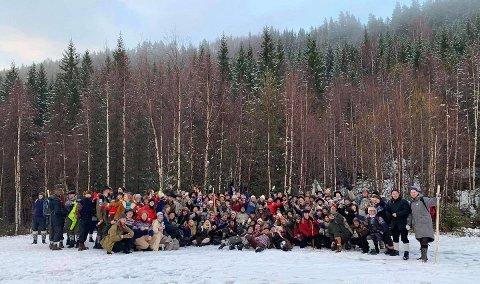 PILEGRIMSFERD: Rakfiskfestivalens Pilegrimsferd har på få år greid å etablere seg som et fast innslag under Norsk Rakfiskfestival. Nå fyller de fem år, og venter i underkant av 200 feststemte deltakere.
