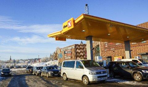STOR FORSKJELL: I dag var prisforskjellen hos Uno-X i Vestby på over 2,5 kroner.
