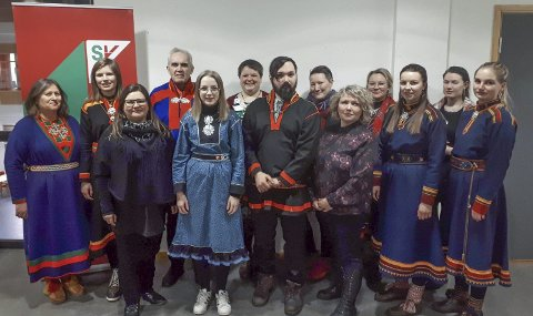 Samepolitikk: 14 delegater fra hele landet var samlet i Tromsø sist helg på SV sin første landedekkende samepolitiske konferanse.
