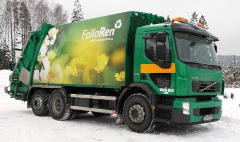 Problemer med søppelhenting: Follo Ren anbefaler alle å grave fram søppelbeholderne sine.