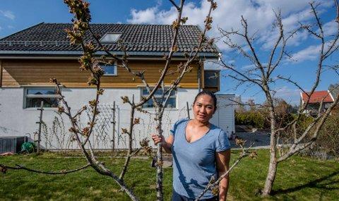 BOLIGDRØMMEN OPPFYLT: Pricia Hutapea (40) fra Ås.