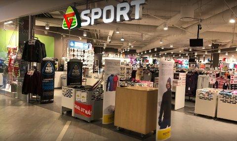 G-Sport på Vinterbro senter.