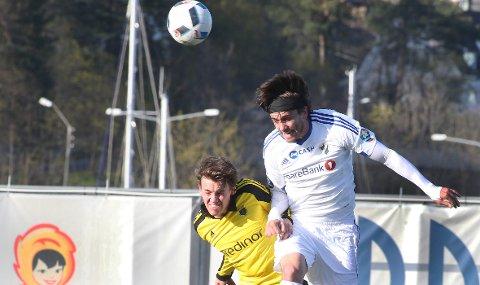 SAMARBEIDER: I mai møttes Cole Grossmans Stabæk og Ola Moes Bærum i cupen. I vinter møtes klubbene en hel dag.FOTO: KARL BRAANAAS