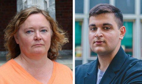 UT MOT NY POLITIKK: Høyres Anne Haabeth Rygg og MDGs Rauand Ismail reagerer kraftig på det se leser om klima i den nye regjeringsplattformen.