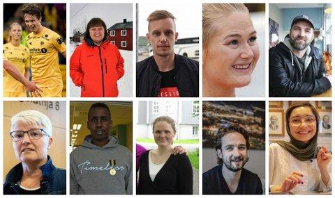 En av disse blir Årets Nordlending 2019. Du har fram til mandag 9. desember klokka 10.00, om du vil gi din stemme.