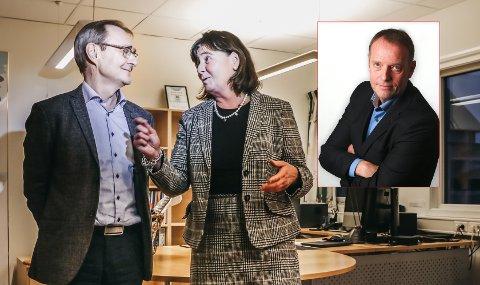 Sjefredaktør Jan-Eirik Hanssen tror påtroppende Helse Nord-sjef Cecilie Daae får en tøff jobb å overta etter avtroppende leder Lars Vorland.