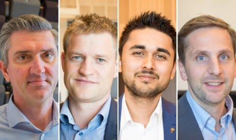 Potensiale: Ordførerne som deltok på dagens møte i Randaberg er positive for fremtidens samarbeid.