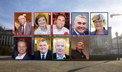 KLARE: Alle stortingsrepresentanter skal sitte i en komité. Nå er fordelingen nesten helt klar.