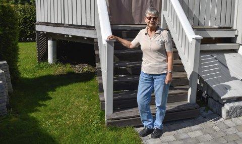 Ikke fornøyd: Nestleder i Nedre Eiker pensjonistforening, Gudrun Ustad, mener politikerne i Nedre Eiker viser arroganse ved å ikke ønske å bli hørt av de eldre.