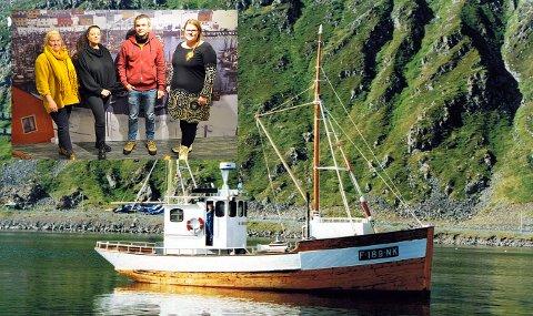MK «MARIELL»: Nordkapps eldste båt. Bilde fra 1992. etter renoveringen som daværende eier Ole Lindseth foretok. Nå skal Prosjekt Nordlys, i samarbeid med Nordkappregionen Næringshage og Nordkappmuseet, prøve å få MK Mariell  inn under Riksantikvarens vinger.