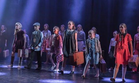 Irmelin Robertsens hadde koreografert et av kveldens store høydepunkter, «Savnet». Stykket ble fremført av fordypning 1, 2 og 3.