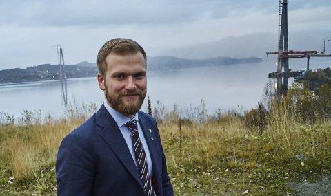 KANDIDAT: Willfred Nordlund fra Sortland i Vesterålen, ville med dagens resultat fått garantert plass på Stortinget.