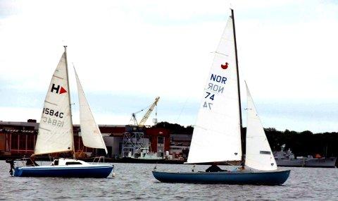 SEIL: Ny flott kveld for Julaften-seilerne på Indre havn.