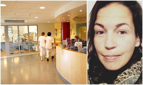 VIL IKKE VÆRE ALENE: Ingvild Stomsvik-Rønsen er høygravid og håper ikke korona gjør at hun må være mye alene under fødsel og barsel på sykehuset.