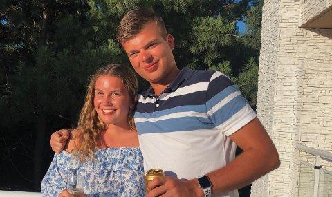 Pia Øfstaas og storebror Emil skal fra høsten av bo i samme by og spille for samme klubb. – Vi kommer nok til å følge litt mer på hverandre, sier Pia.