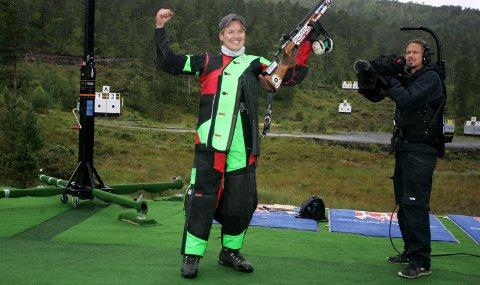 MESTER: Thomas Høgåsseter vant Stang-finalen under Landsskytterstevnet i Førde.