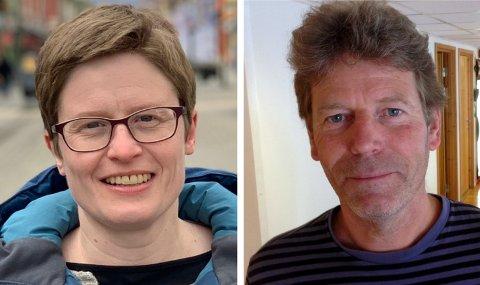 Eva Marie Mathisen og Øyvin Aamodt (Rødt) fortsetter ordskiftet med SV om makta i Lillehammer.